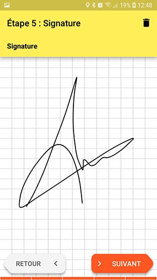 Signature digitale DigiConstat VF